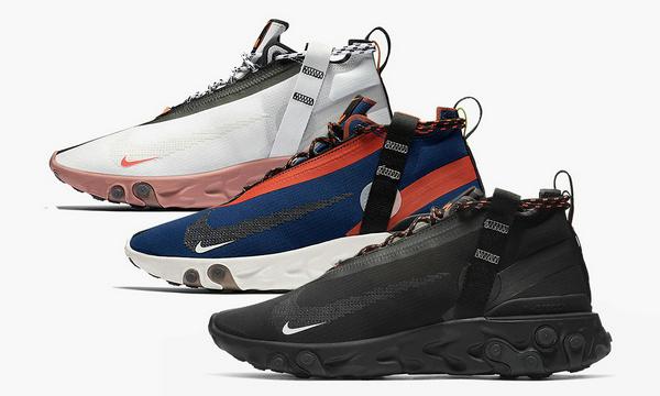 都市机能感十足的 Nike React Runner Mid 鞋款官图释出
