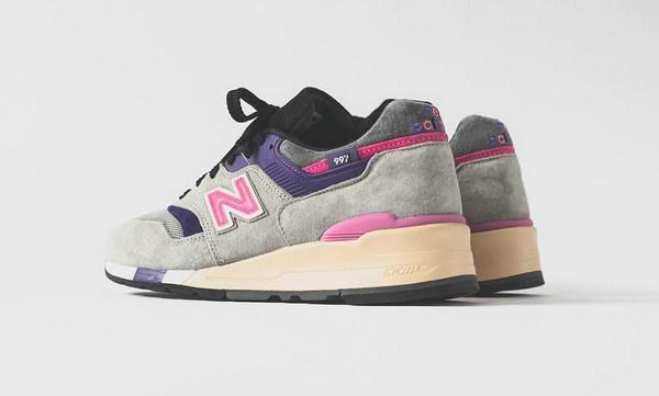 Kith x nonnative x New Balance 997 联名鞋款配色细节释出