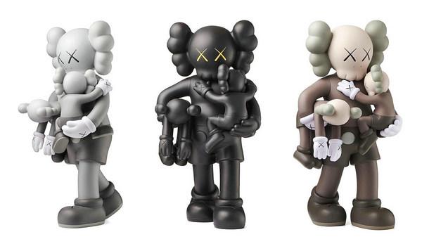 三色齐发,KAWS 公布全新「CLEAN SLATE」搪胶玩偶发售详情~