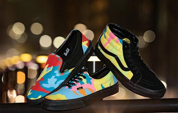 "VANS x BILLY'S 全新联名独占""Neon Camo""系列鞋款上架发售"