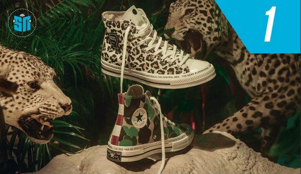 你的鞋柜有么?Converse 2018年度前十最佳鞋款排行榜公布!