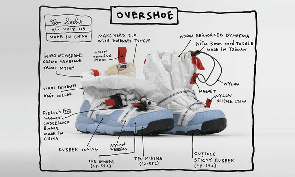 Tom Sachs x Nike 联名 Mars Yard Overshoe 鞋款再次发售~