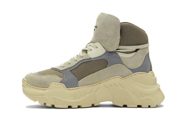 法国时装品牌 Balmain 2019 Joan Sneaker 高筒球鞋开售~