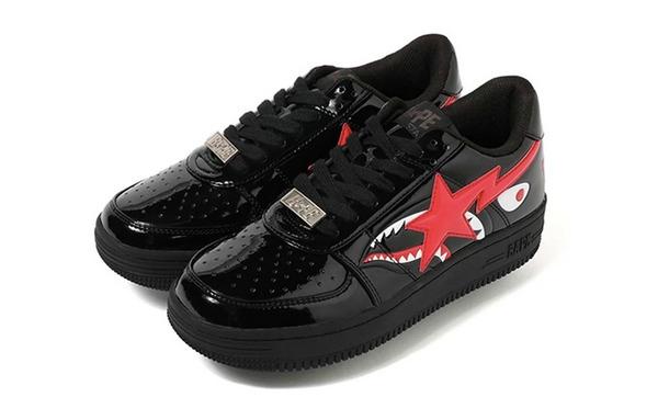 日潮 A BATHING APE 全新鲨鱼纹 BAPESTA Low 鞋款即将上架!