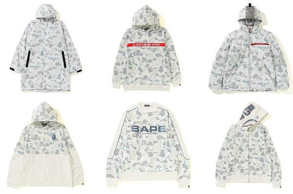 """日潮 BAPE 2019""""SPACE CAMO""""太空迷彩系列抢先预览~"""