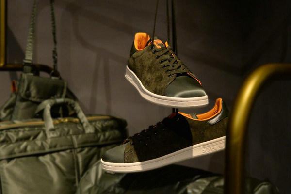 PORTER x adidas Originals 全新联名 Stan Smith 鞋款释出~