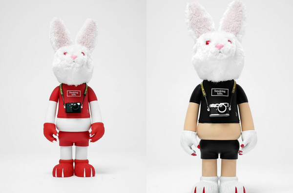 日潮 Fxxking Rabbits x T9G 全新联名兔子玩偶曝光!