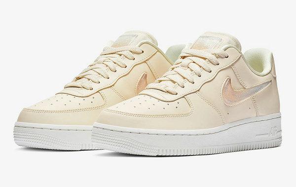 "女生专属!Nike Air Force 1 鞋款""Jelly Puff""配色开售~"