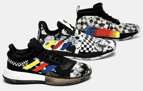 赛道既视感?adidas 2019 NBA 别注篮球鞋系列亮相