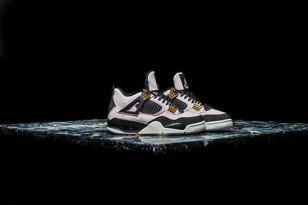 细腻有光泽!Air Jordan 4 鞋款新品发售在即~