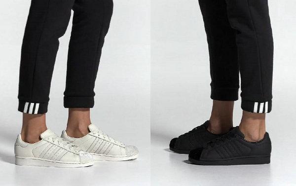 天鹅绒贝壳头?adidas 三叶草女性专属 Superstar 系列上架