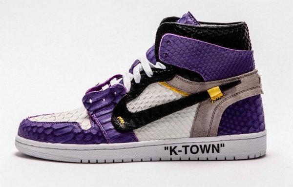 客制专家再出手!OFF-WHITE x Air Jordan 1 全新联名定制鞋款释出~