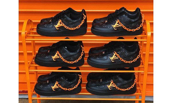 极致奢华,Nike Air Force 1 x LV 2019 客制鞋款惊艳亮相~