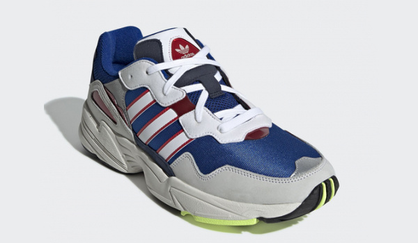 adidas Yung-96 复古鞋款新配色即将上架,美国队长版本?