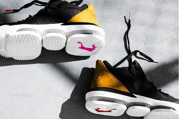 霸气的皇冠标志!LeBron 16 Low 鞋款低帮版本上架发售~
