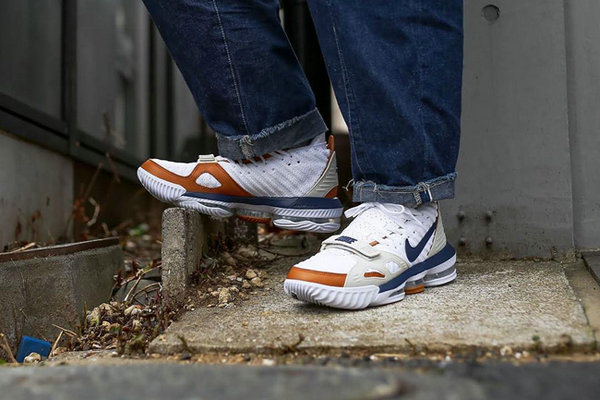 "LeBron 16 ""Air Trainer"" 鞋款释出,一览无遗的复古质感~"
