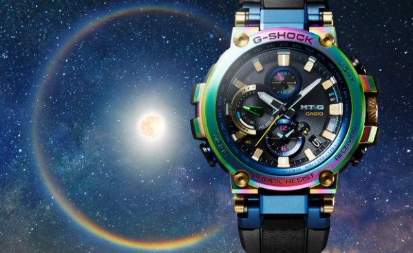 Casio 发布彩虹色 G-SHOCK MT-G 手表,纪念该系列 20 周年~~