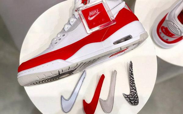 "Air Jordan 3 Tinker ""Air Max 1""鞋款即将发售,加持钩子标志可替换"