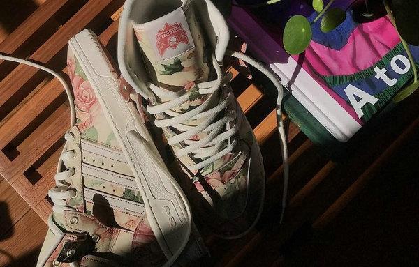 eric emanuel x adidas Originals 全新联名 Rivalry High 鞋款曝光