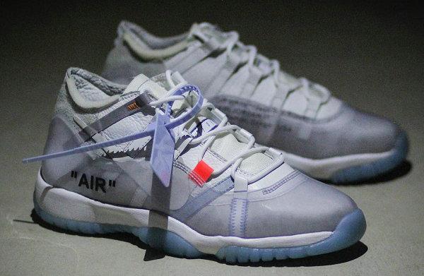 解构新玩法?Off-White x Air Jordan 11 鞋款客制版本释出~
