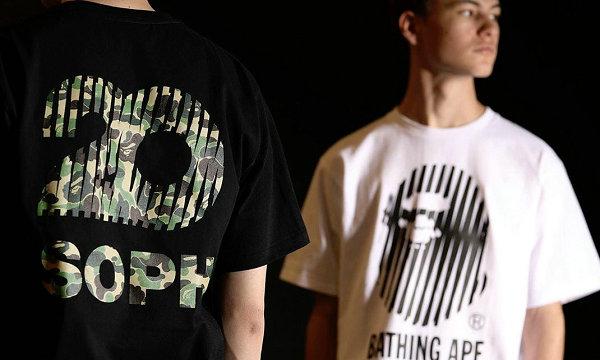 SOPHNET. x BAPE 2019 联名 T恤系列.jpg