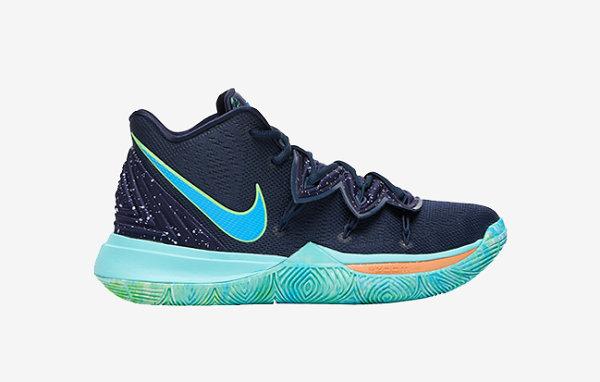 """星空装扮!Nike Kyrie 5 鞋款 2019 """"UFO"""" 配色亮相"""