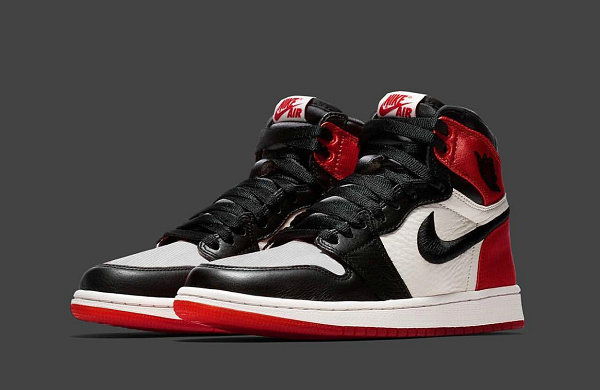 Air Jordan 1 丝绸黑脚趾鞋款全貌释出,热度堪比 AJ1 禁穿复刻