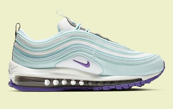 Air Max 97 鞋款女生专属复活节白浅蓝配色现已上市