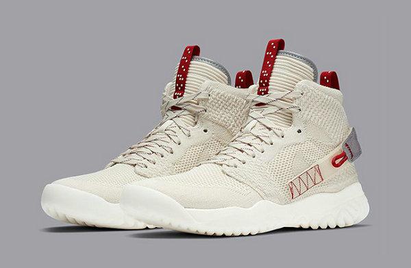 Jordan Apex React 鞋款米黄配色上架,机能感十足的编织球鞋