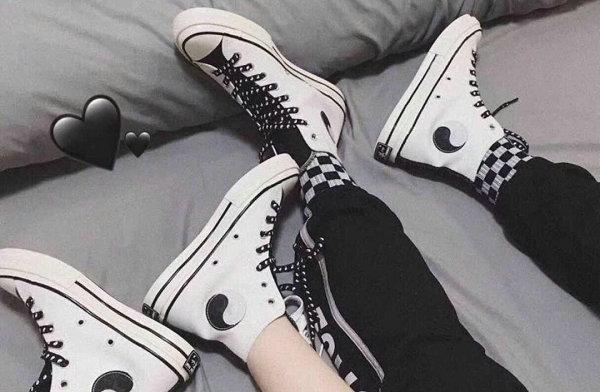 匡威太极鞋款不止黑白阴阳,还有这几个太极元素配色也好看!