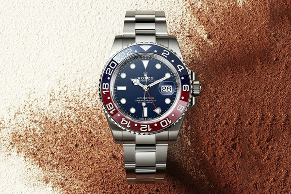 Rolex(劳力士)全新 18ct 白金 GMT-Master II「Pepsi」腕表释出