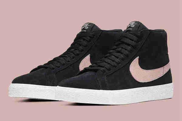 "Nike SB Blazer Mid 鞋款全新""Washed Coral""配色即将来袭"
