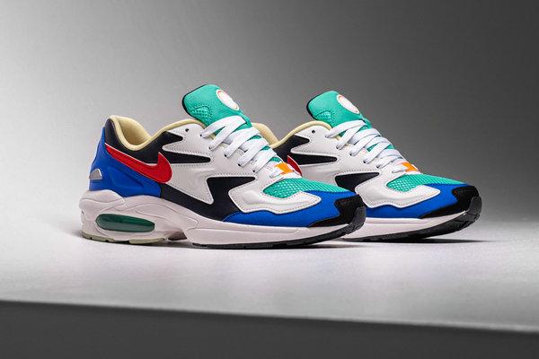 Nike Air Max2 Light SP 鞋款全新撞色设计即将发售~