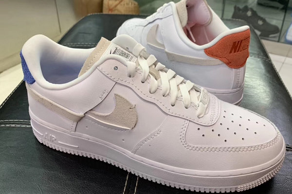 "Air Force 1 鞋款""Inside Out""内外翻转配色实物首次亮相"