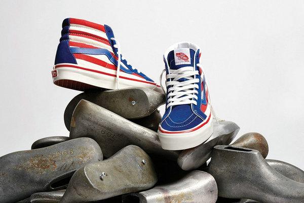 范斯全新 Anaheim Factory 系列鞋款释出,美式风格十足~