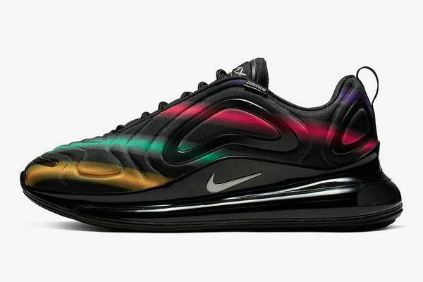 Nike Air Max 720 鞋款全新霓虹条纹配色释出,无可比拟的颜值