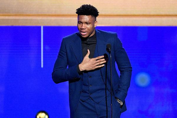NBA 2018 - 2109 赛季得奖名单完整公布,字母哥加冕 MVP