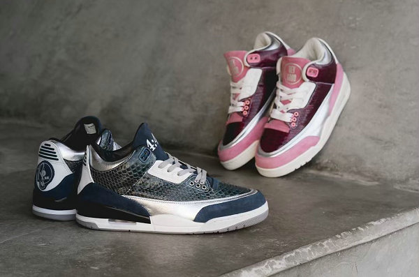 Air Jordan 3 鞋款 Jay Z 夫妇定制版本释出,规格超高