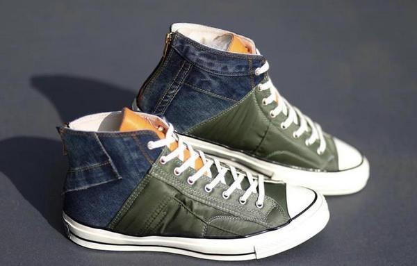 匡威 Chuck Tylor 1970S 鞋款全新客制版本曝光,sacai 解构融入!