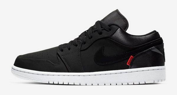 巴黎圣日耳曼(PSG)x Air Jordan 1 Low 合作鞋款本月发售