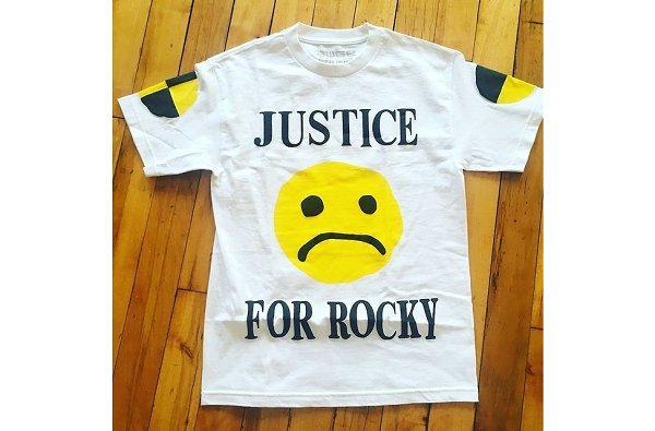 CPFM 声援 T-Shirt 曝光,对 A$AP Rocky 被捕表示不满?