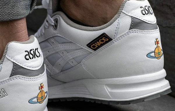 亚瑟士 x Vivienne Westwood 全新联名 GEL-Saga 鞋款实物曝光~