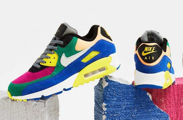 "Air Max 90 鞋款""Viotech 2.0""配色曝光,缤纷撞色设计吸睛"