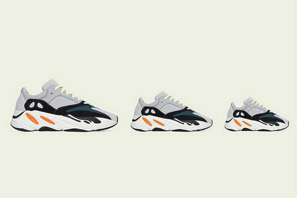 "YEEZY BOOST 700 鞋款初代""Wave Runner""配色发售详情正式公布"
