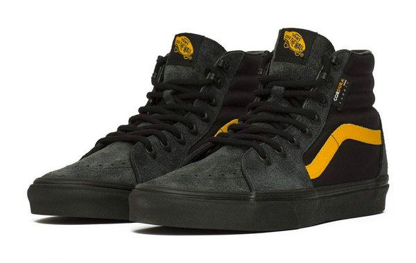 """范斯 x CORDURA 全新联名 Sk8-Hi""""Black""""鞋款2.jpg"""