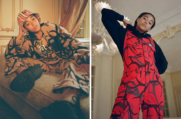 X-girl x MadeMe 2019 联名系列公布,荆棘与条纹元素吸睛