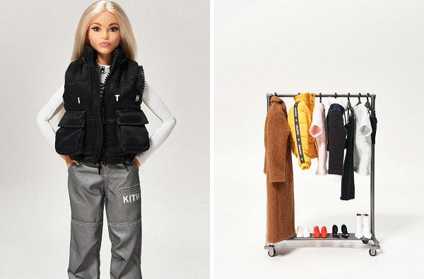 KITH Women x Barbie 联名企划曝光,庆祝芭比娃娃诞生 60 周年