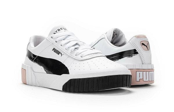 彪马 x Maybelline 联名 Cali 鞋款出炉,跨界美妆新世代?