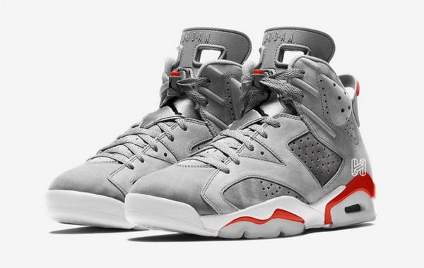 Air Jordan 6 全新配色鞋款曝光,AJ 系列的颜值扛把子!
