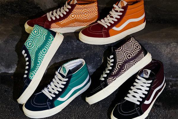 范斯 x BILLY'S 全新联名系列鞋款释出,炫目花纹加持